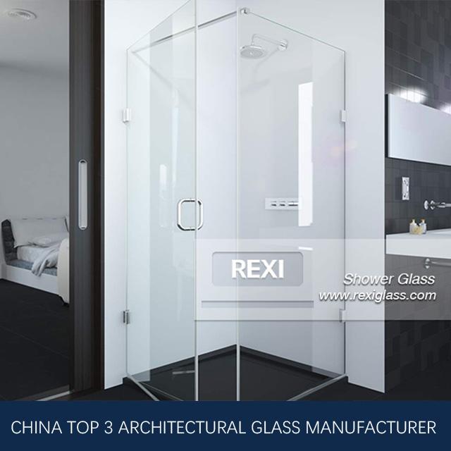 8mm 10mm 12mm Frameless Glass Shower, Tempered Glass, CE, SGCC&AS/NZS certified