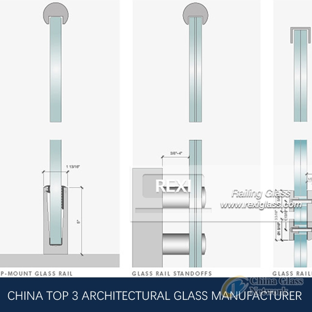 Railing Glass by Tempered Glass, Laminated Glass, CE, SGCC&AS/NZS certified