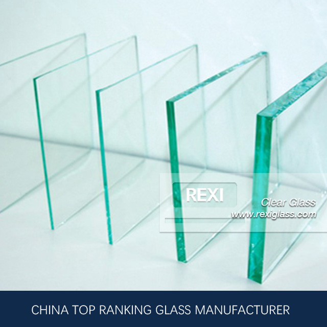 1mm-19mm Clear Float Glass for Mirror, super flat, zero defects, CE certified