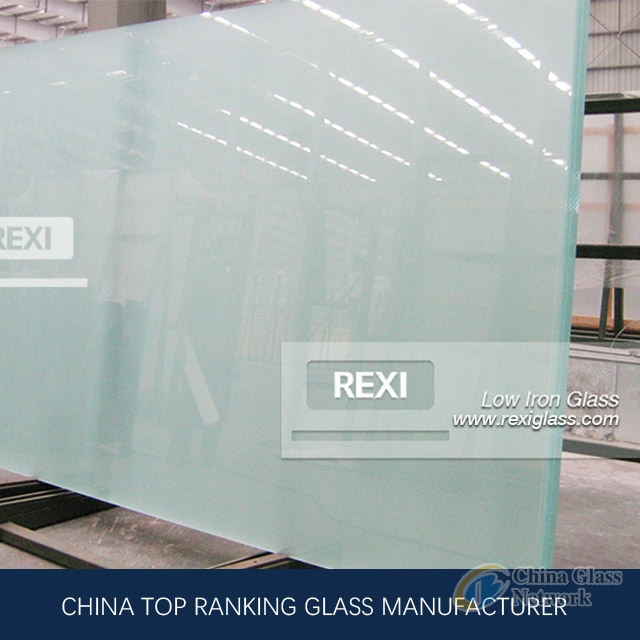 1mm-19mm Low Iron Glass, Temperable, Lamination and Insulation Grade, CE certified