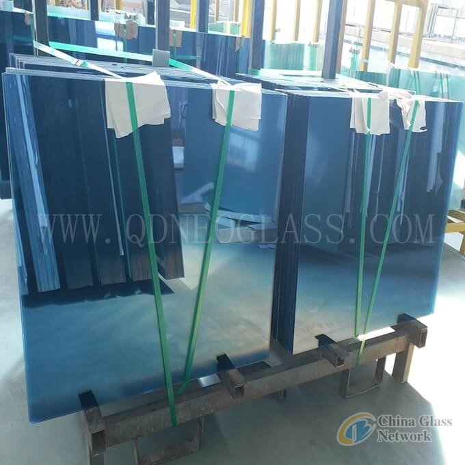 Custom-made Laminated Glass 4.38-32.28 mm-Clear, Milky White/Opal/White Translucent, Grey,Bronze,Dark Blue,Light Blue