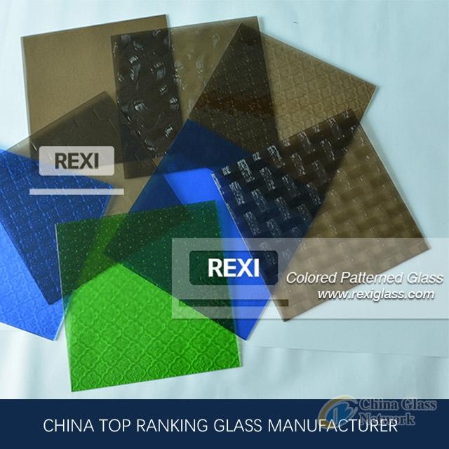 3mm-8mm Coloured Pattern Glass, Nashiji, Karatachi, Mistlite, Millennium, Morgon, Flora, CE certified