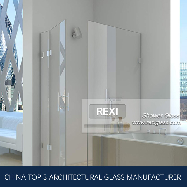 8mm 10mm 12mm Laminated Shower Glass, Tempered Glass, CE, SGCC&AS/NZS certified