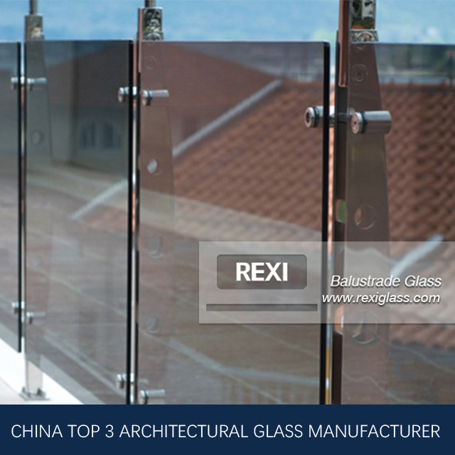 Balustrade Glass by Tempered Glass, Laminated Glass, CE, SGCC&AS/NZS certified