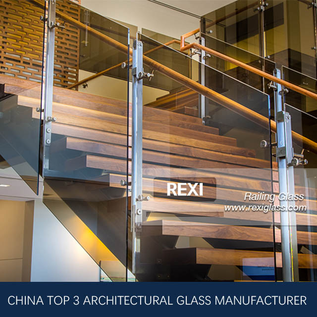 glass Railing by Tempered Glass, Laminated Glass, CE, SGCC&AS/NZS certified