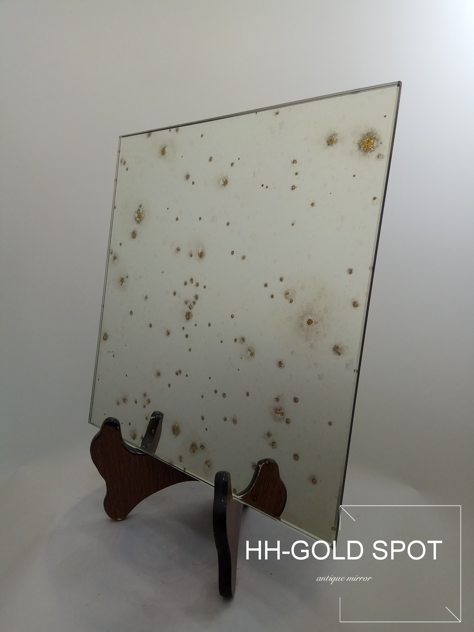 HH-Golden Spot Antique Mirror/ Decorative Mirror