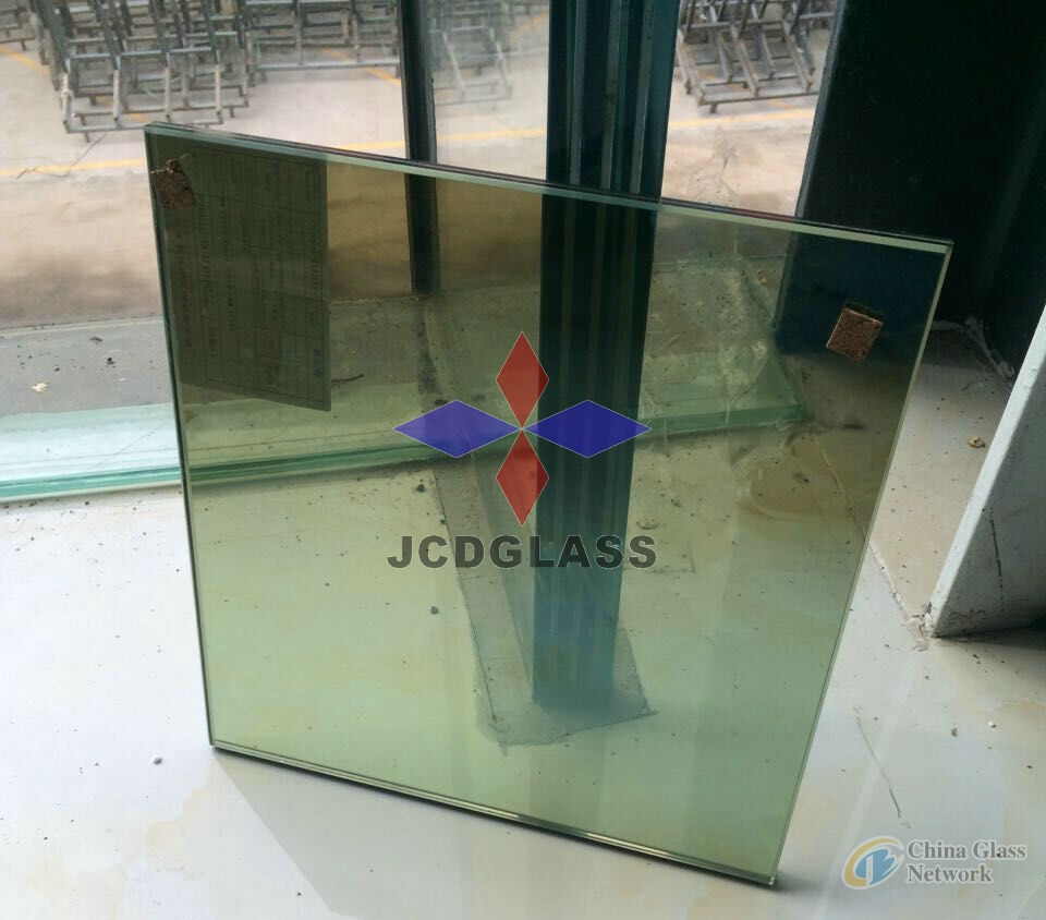 5mm, 6mm, 8mm Green Reflective glass