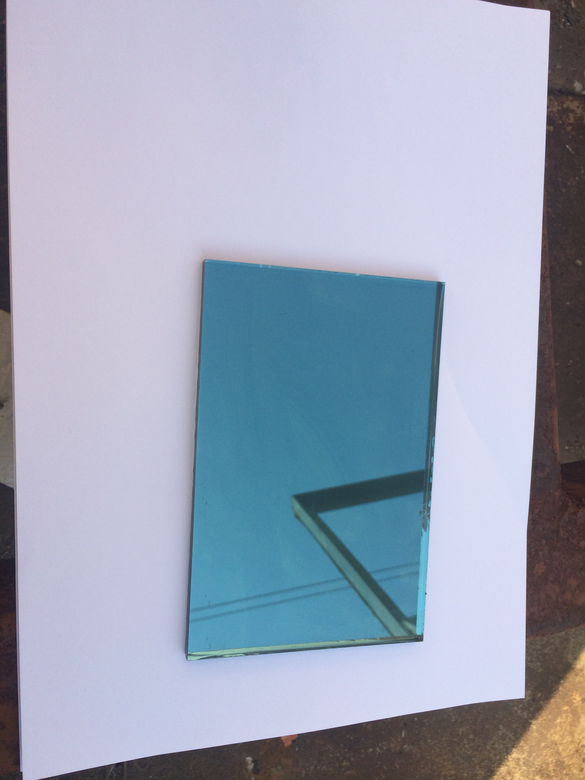 Beveled Glass and Mirror Coated Glass Switch Plates
