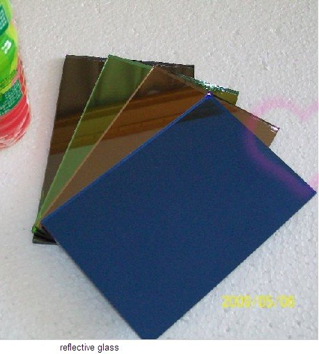 4-12mm Colorful Reflective Architectural Glass for Commercial Building