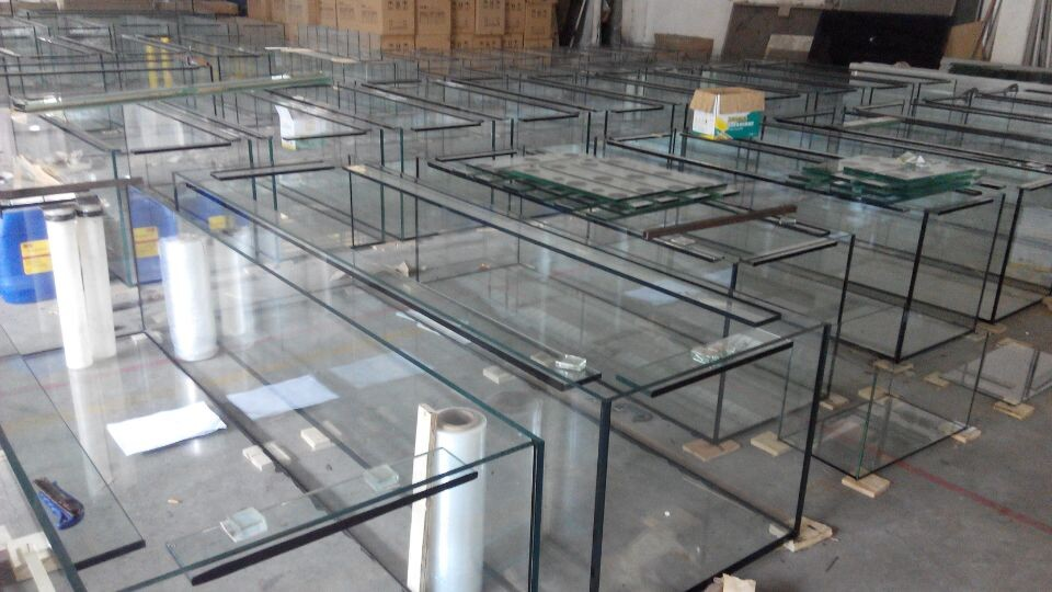 Custom Fish Rectangular Glass Aquariums Acrylic Fish Tanks, Fish Tank  Glass Supplies