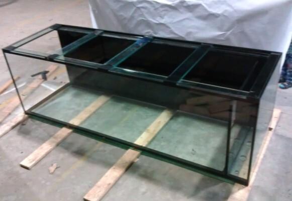 Custom Fish Rectangular Glass Aquariums Acrylic Fish Tanks, Fish Tank  Glass Supplies