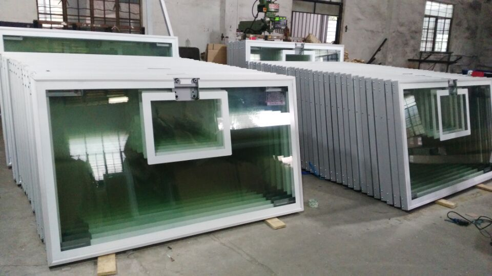 All Aluminum All Aluminum Frame Tempered Glass Basketball Backboard (GM-L-12)