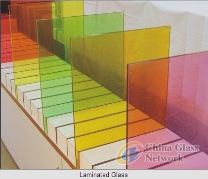 Decoration Laminated Glass with Fabric Inside