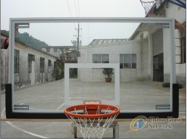 10mm 12mmTempered Glass Basketball Backboard