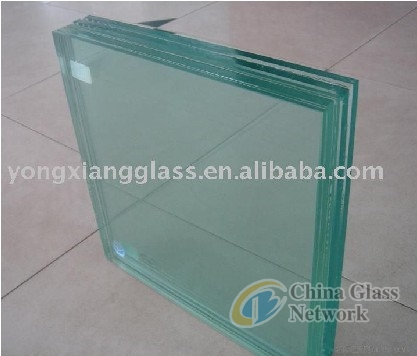 Skidproof Clear Glass Floor for Building