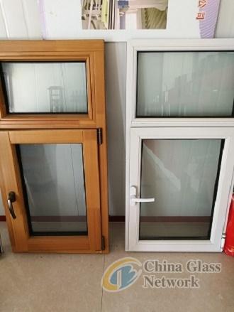 Aluminum window, door, curtain