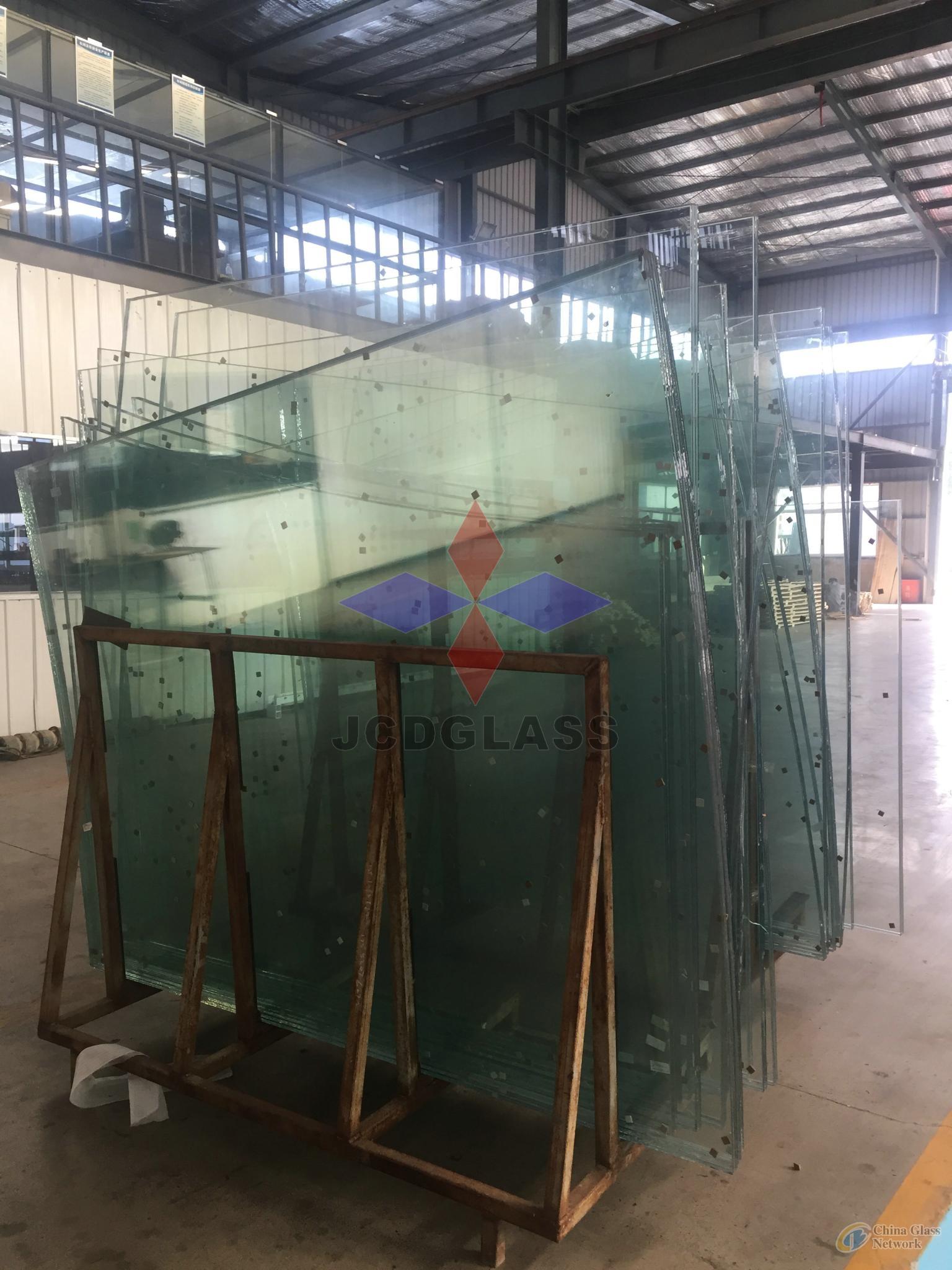 SGP laminated glass bridge panels