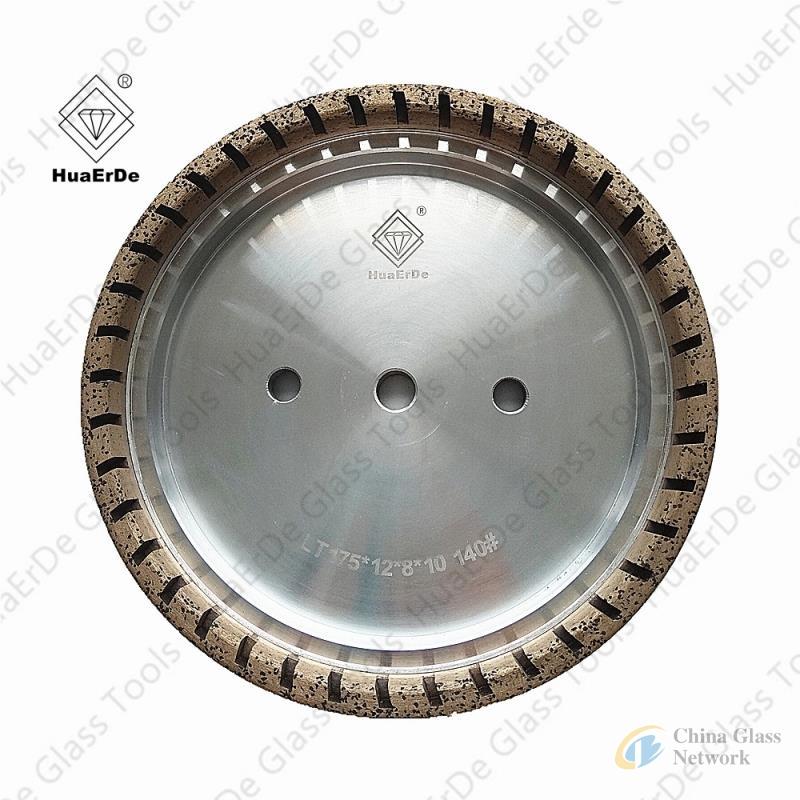 Diamond Grinding Wheel Abrasive Cup Disc Glass Edger Disc 150mm Grit #175 Free Ship