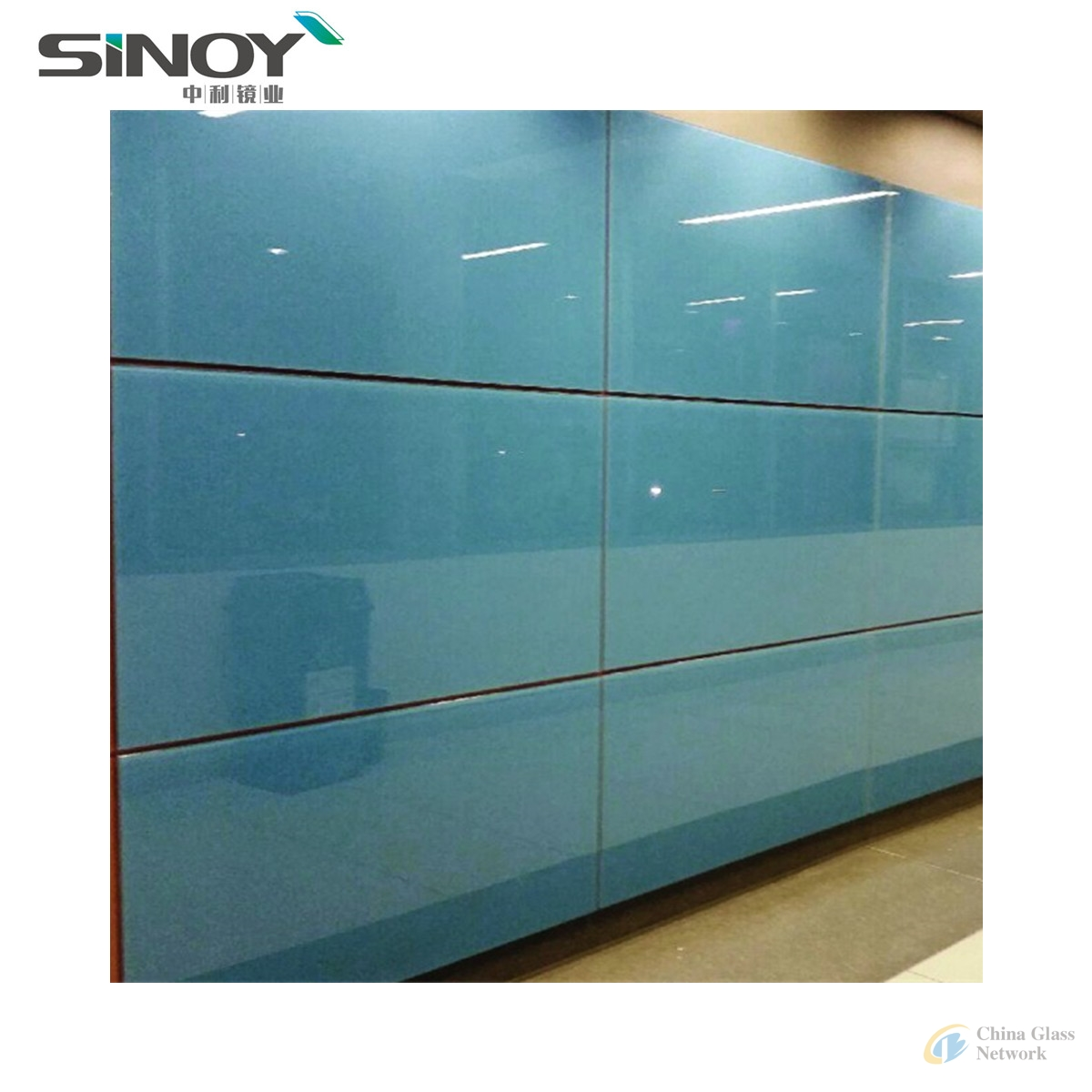 China Factory Lacquered Glass with double FENZI coating