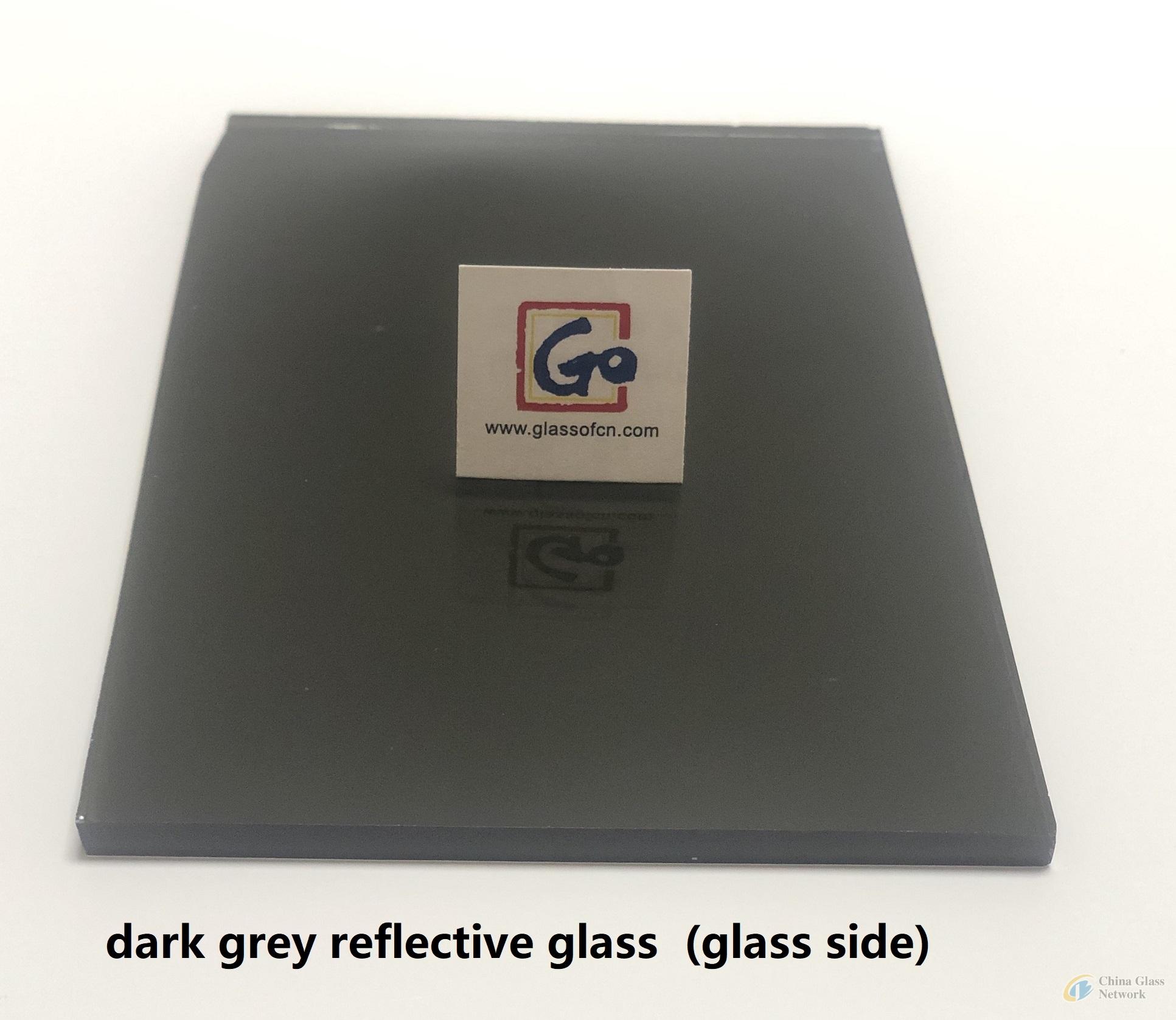 4-6mm Dark Grey Reflective Float Glass