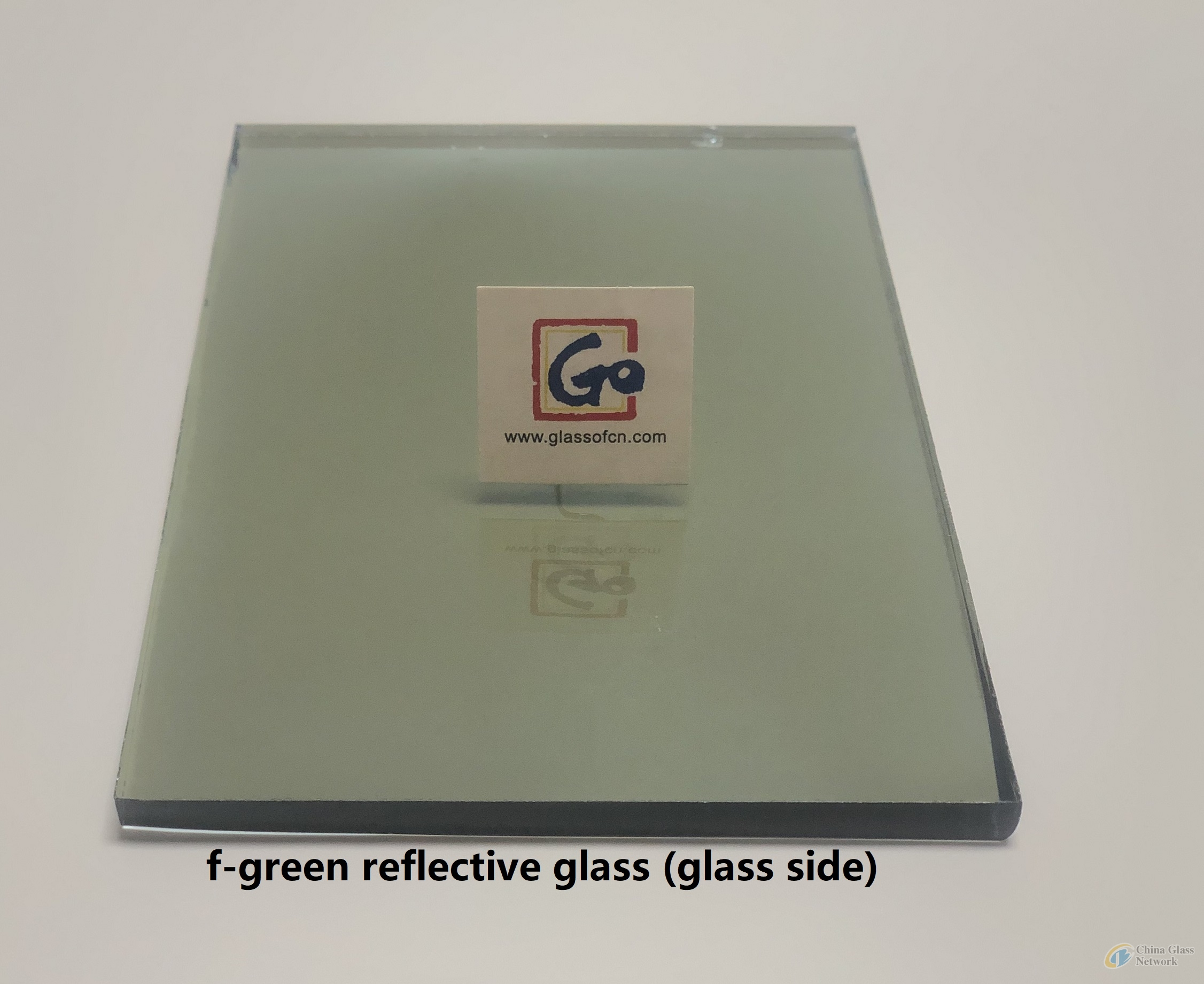 5.3mm F-Green Reflective Float Glass
