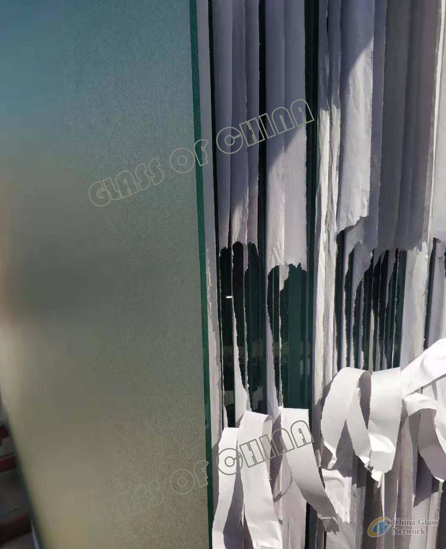 Grey Karatachi Figured Glass(4mm--6mm)