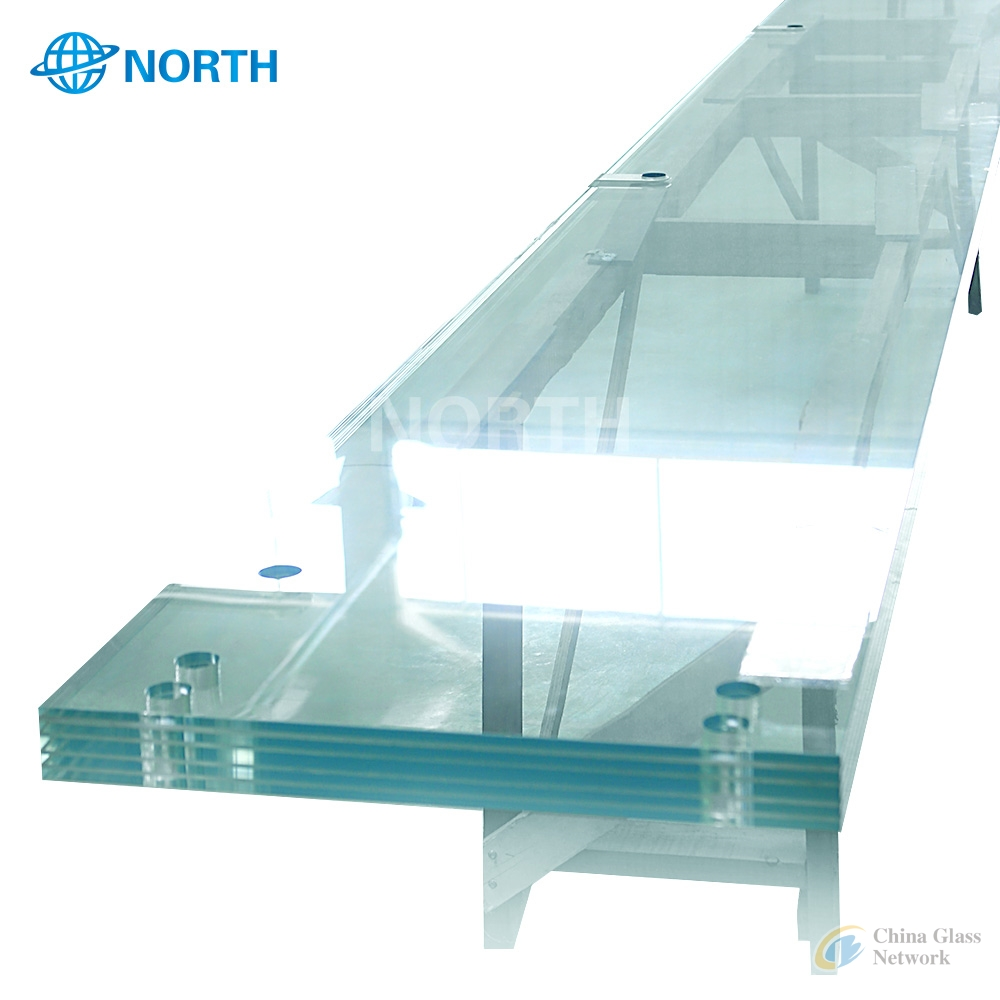 Clear Tempered glass baluster for sale