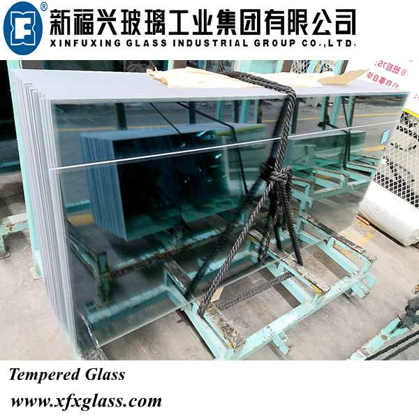 3mm/4mm/5mm/6mm/8mm/10mm/12mm/15mm/19mm Clear & Tinted Tempered/Toughened Glass with Ce&CCC&ISO Certificate