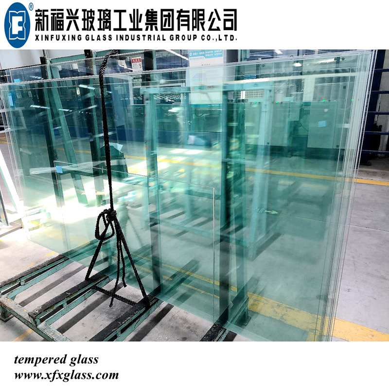 Clear Tempered Glass for Construction with CCC CE ISO