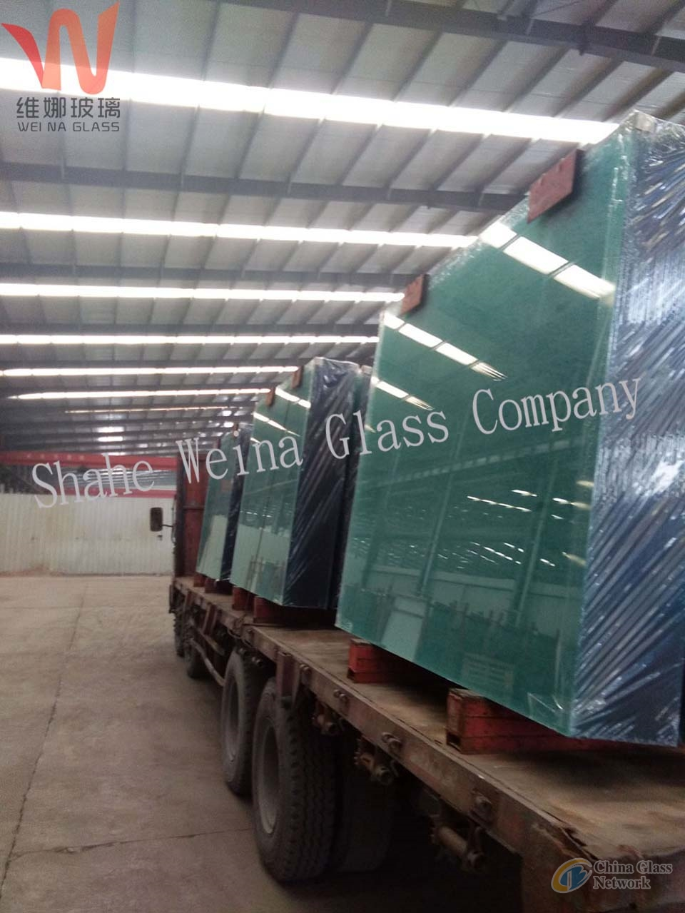 8mm    clear float glass from Weina Glass with high light transmittance