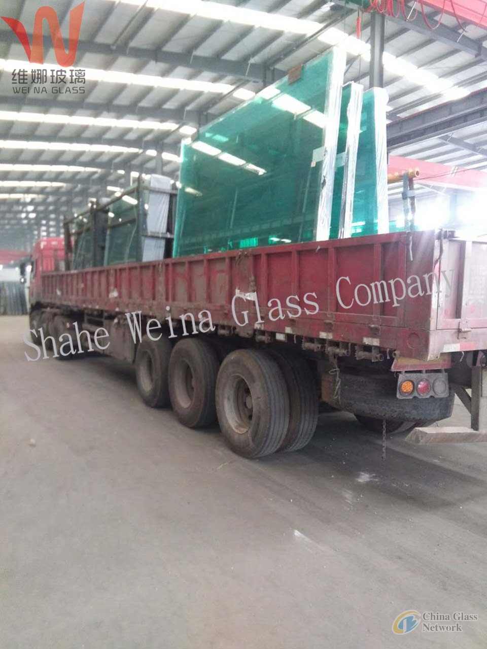 12mm    clear float glass from Weina Glass with high light transmittance