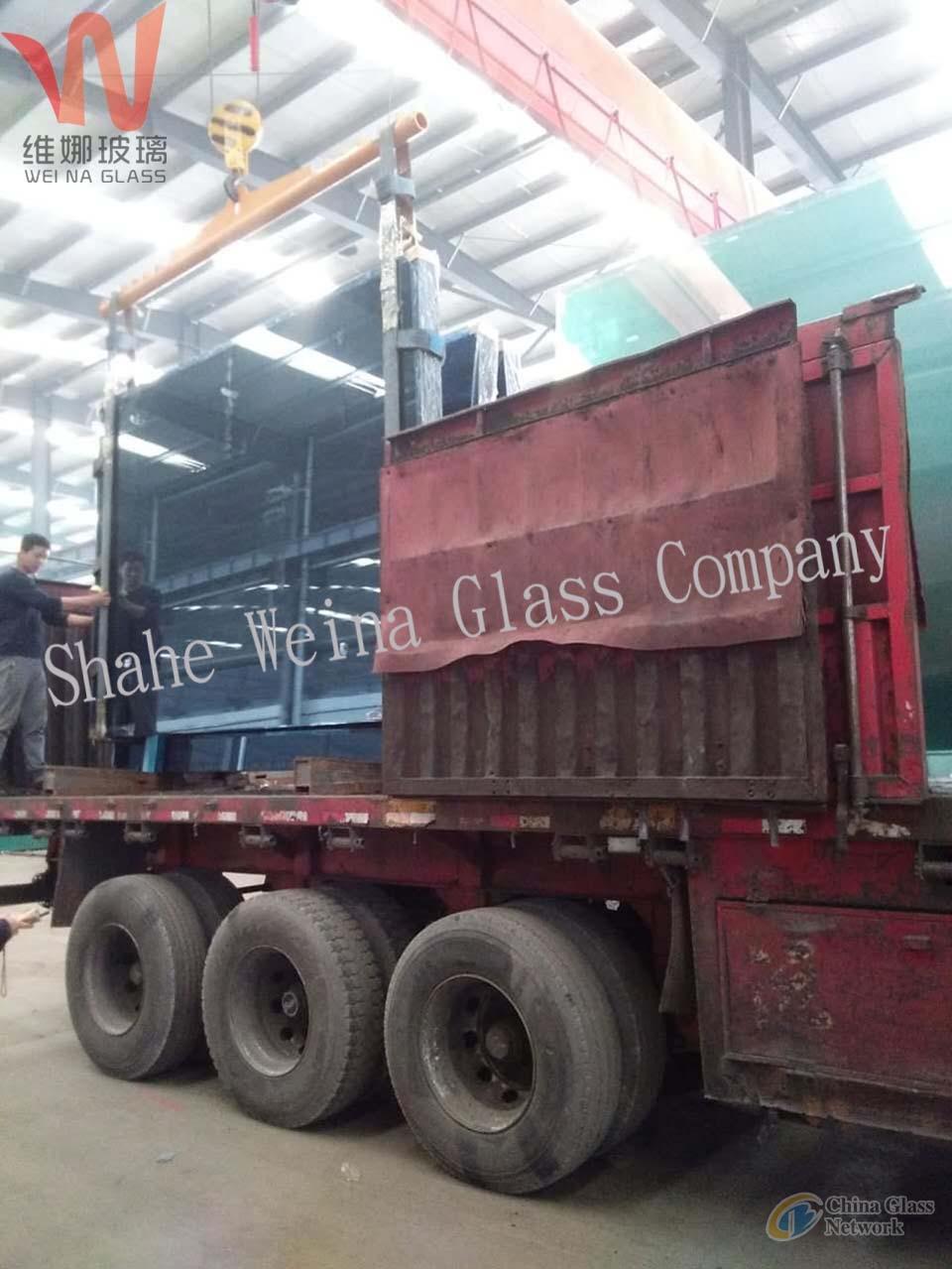5mm Ford blue coated glass, Vina glass