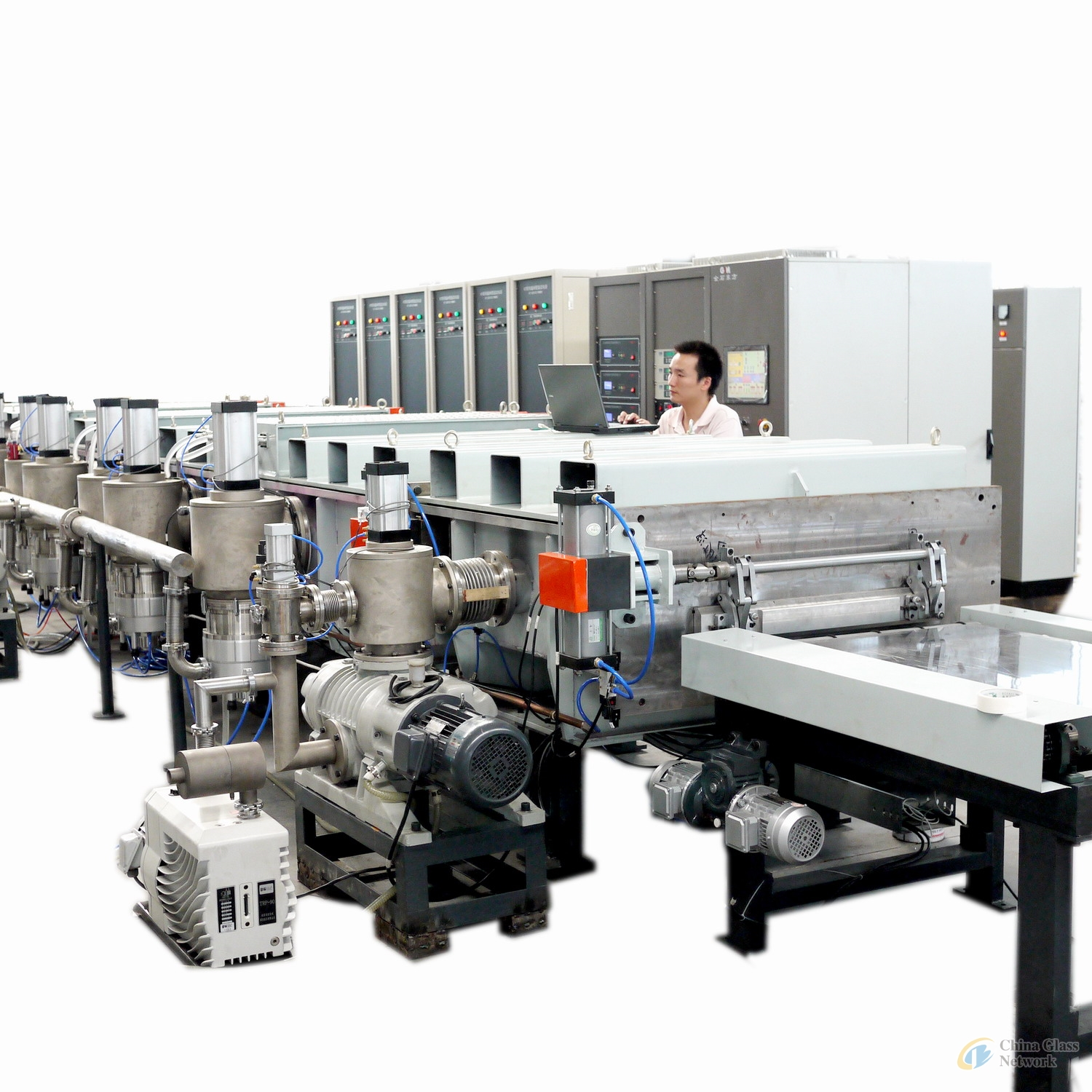 Vacuum Sputter Coating Machine  for Automotive Glass