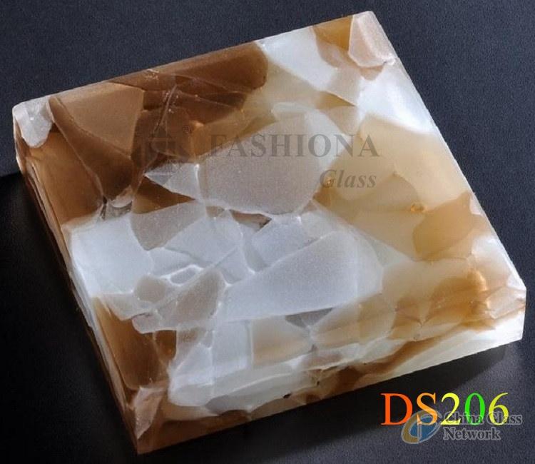 Backlit Jade Glass Slabs