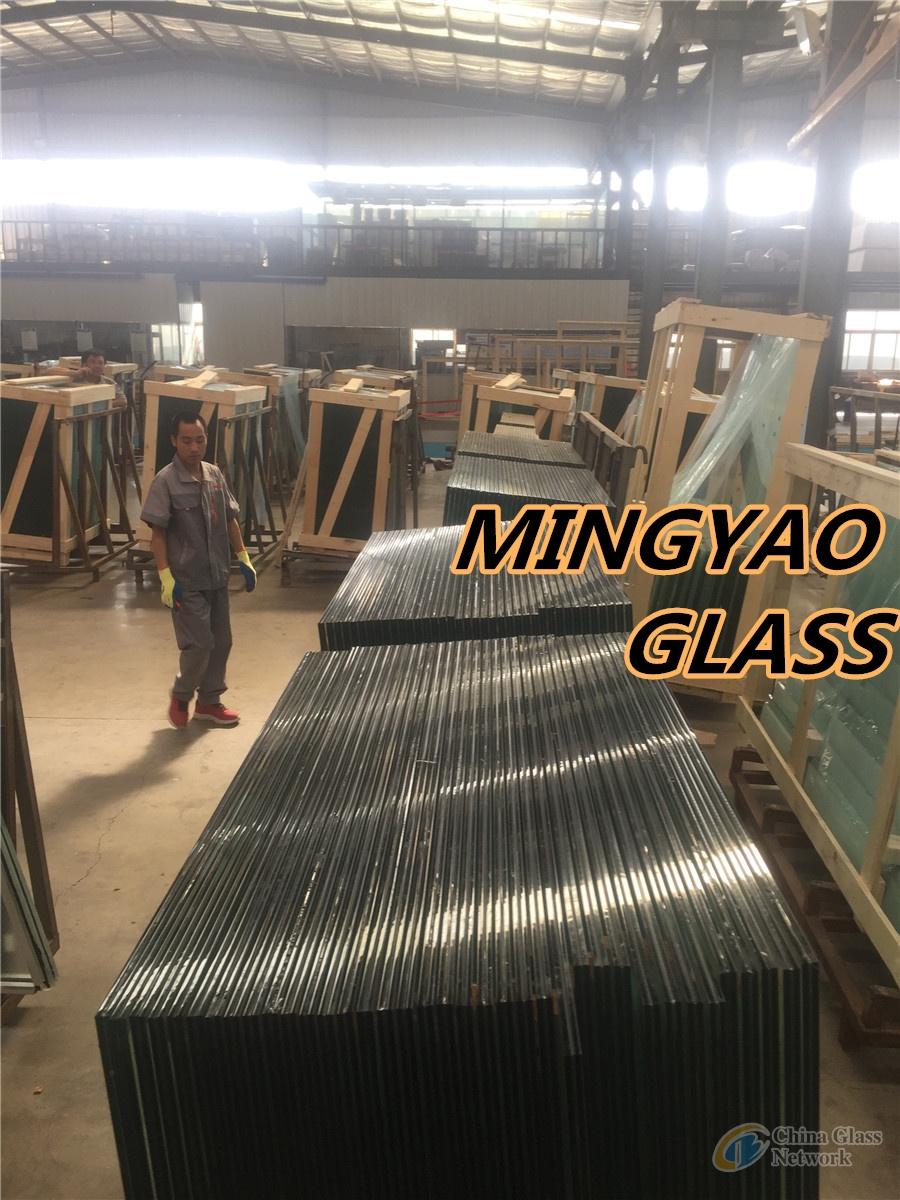 Flat PVB & SGP Laminated Glass