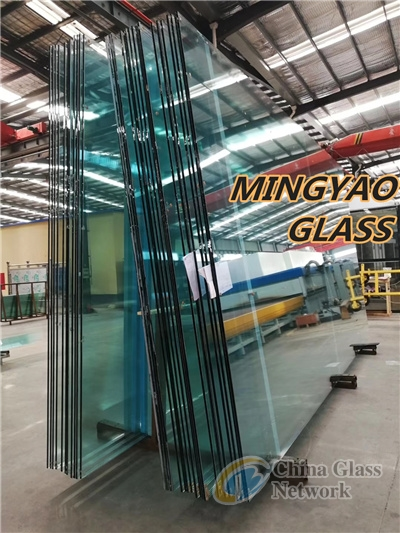 12, 15, 19mm Clear Low iron Tempered Glass Toughened glass