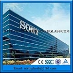 Hot Selling Low Reflective Glass Price For Building Facade