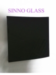1.5-25mm black tinted glass,black float glass