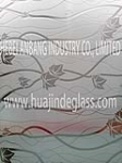 ice acid glass, building decorative art glass
