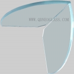 Ultra Clear Tempered Glass Shelf-AS:NZS 2208:1996,CE, ISO 9002