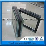 Triple Glazings Laminated Insulated Glass Low Price For Curtain Wall