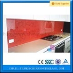3-12mm cuttable Splashback back painted glass