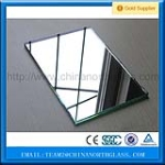best quality and low price 3/4/5/6mm silver mirror glass wholesale