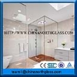 Clear Shower Door Low Iron Glass