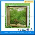 High quality Bronze Color Glass Block Whole Saler