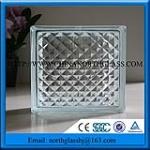 2016 Interier Decorative Material Grade A Glass Brick Factory