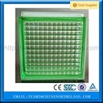 2016 Best Quality Green Color Glass Block Whole Saler