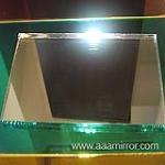 high quality mirror glass, anti-corrotion,long shelf life, exact image