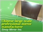 Double Coated with Fenzi Paints Silver Coated Mirror Glass