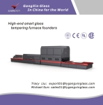 GX-R Series Soft Roller Bending Glass Tempering Furnace